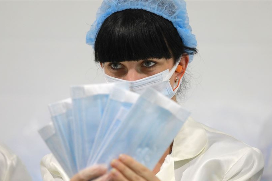 BelEmsa started production of medical masks