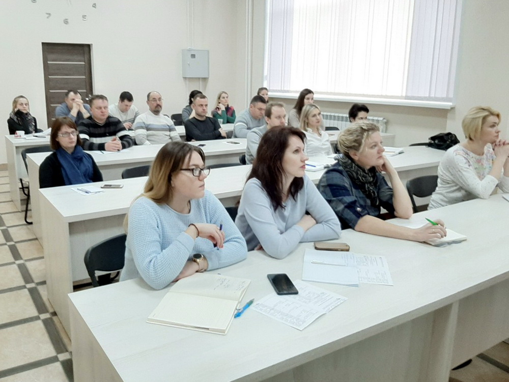 "The administration of ""Mogilev"" FEZ took part in the training project ""School of Exporter"""